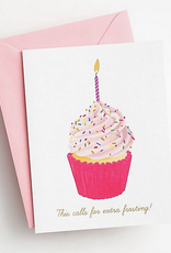 Extra Frosting Card