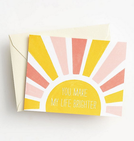 Make Life Brighter Card