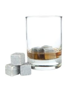 Glacier Rocks Soapstone Cubes Set of 6