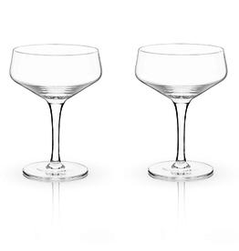 Crystal Couple Glass