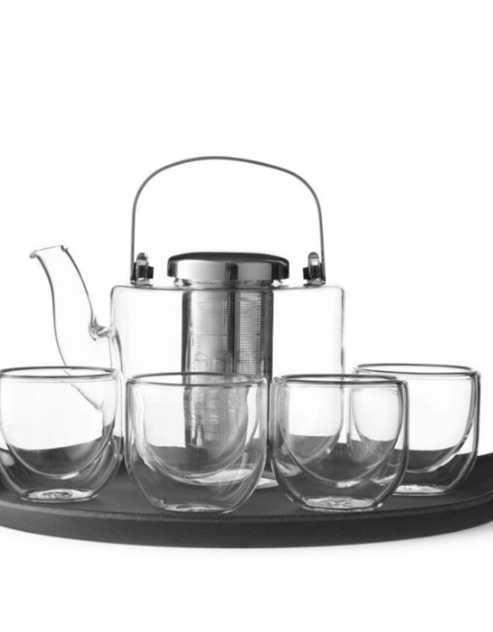 Bjorn Glass Tea Set