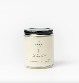 Cedarwood, Pine and Black Spruce Candle