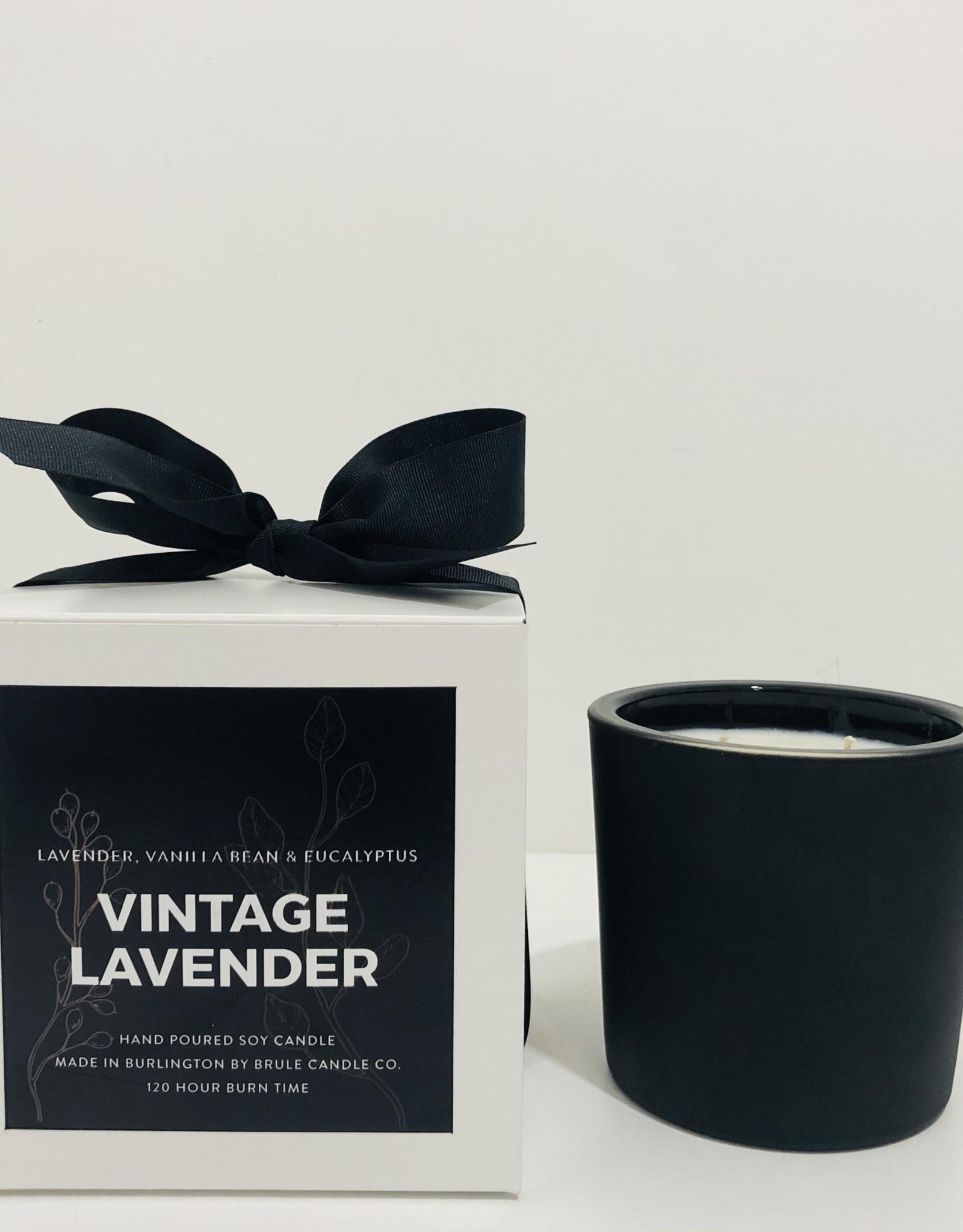 Brule Vintage Lavender 2 Wick Candle