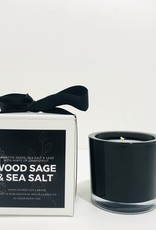 Brule Wood Sage and Sea Salt Candle