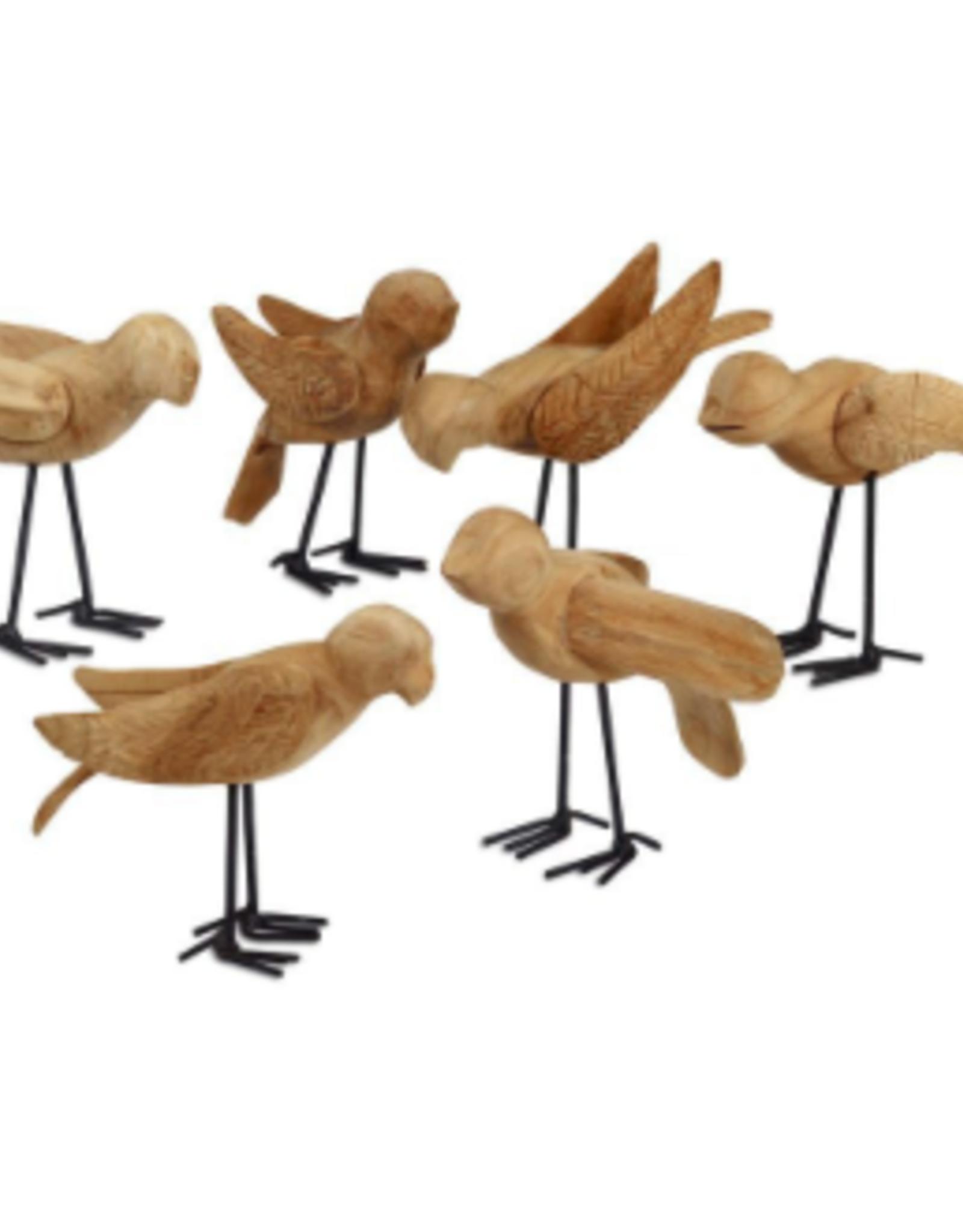 Bird, Wooden Deseo Assorted