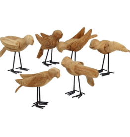 Bird, Wooden Deseo Assorted
