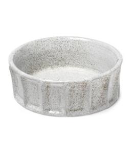 """Silone Small White Ceramic Bowl 9 x 9"""""""