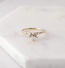 Harlowe Ring Size 8 - Gold