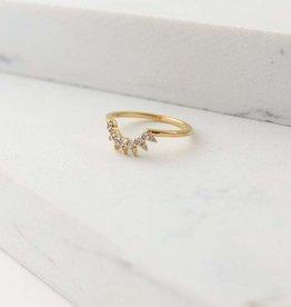 Nova Ring Size 8 - Gold