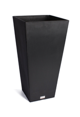 """Small Midland Tapered Square Planter  W13.75"""" D13.75"""" H26"""""""