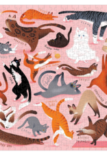 Namaste Cats 500 Piece Puzzle
