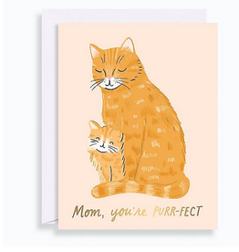 Purrfect Mom Card