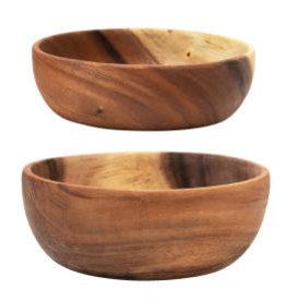 "Acacia Wood Bowl D7"""