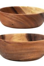 "Acacia Wood Bowl D8"""