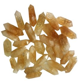 Double Terminated Citrine Points 1-2""