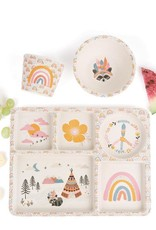 Gypsy Girl Divided Plate Set