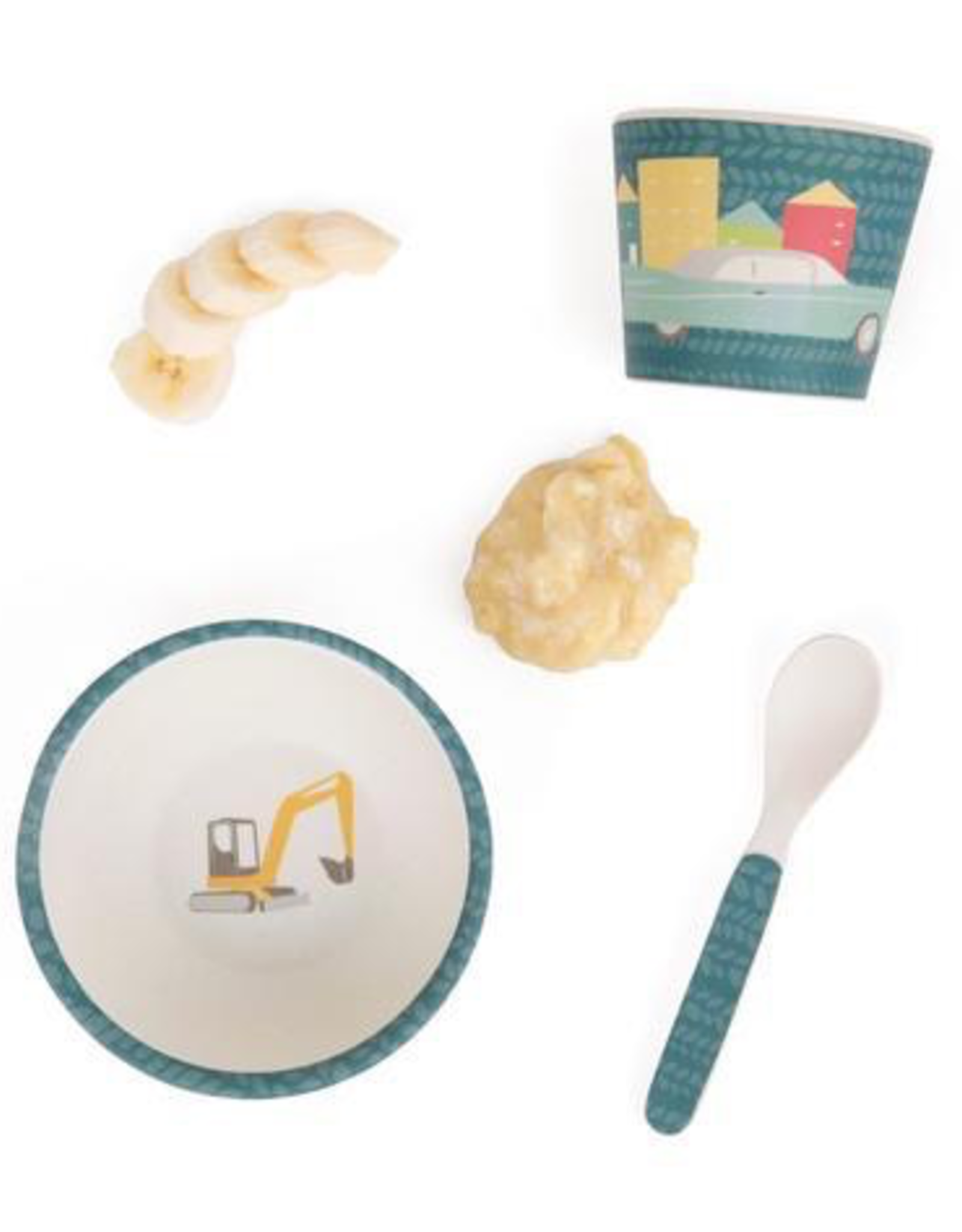 Cars Baby Feeding Set