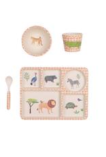 On Safari Divided Plate Set