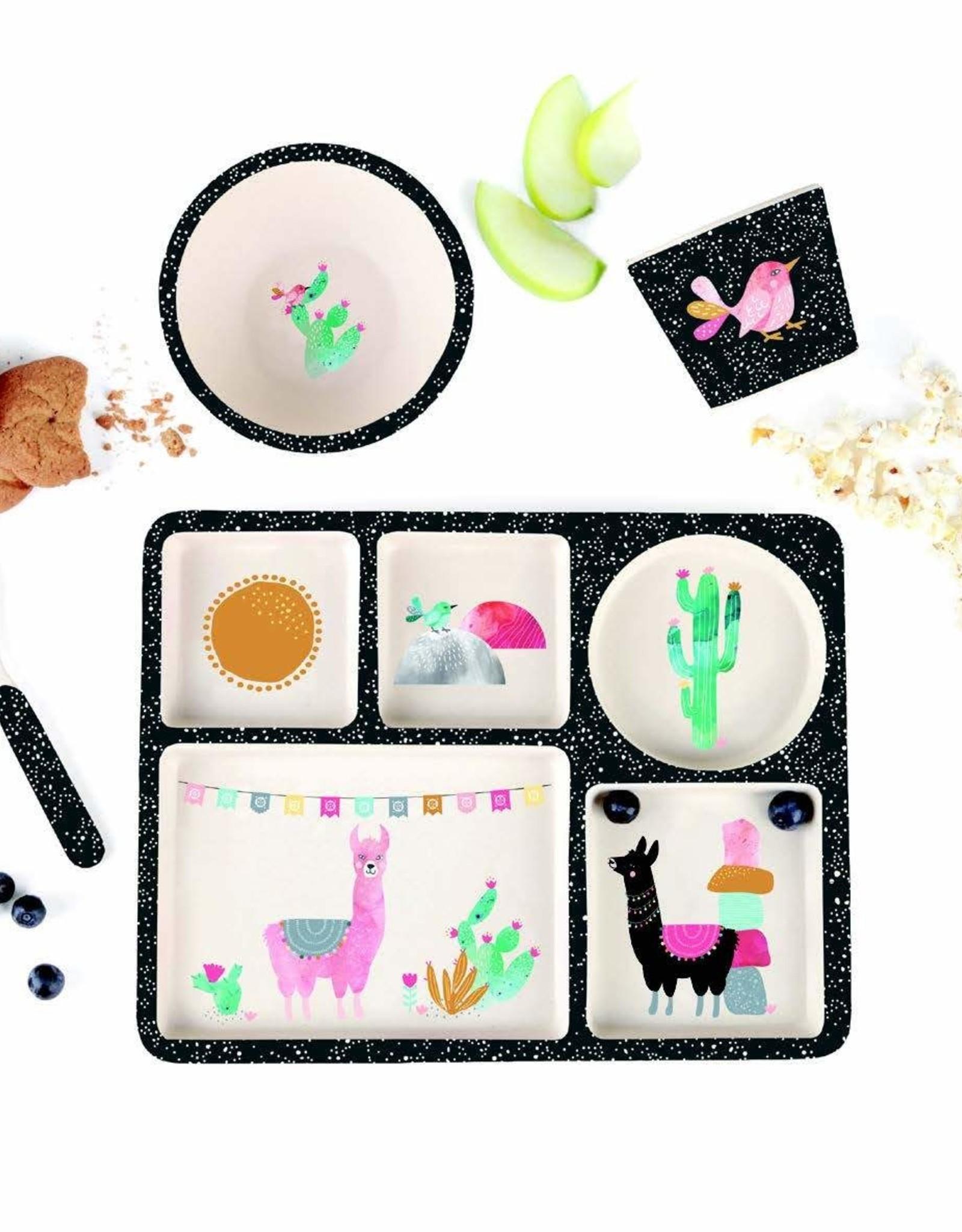 Llamarama Divided Plate Set
