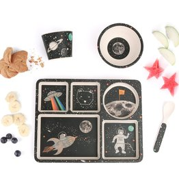 Space Adventure Divided Plate Set