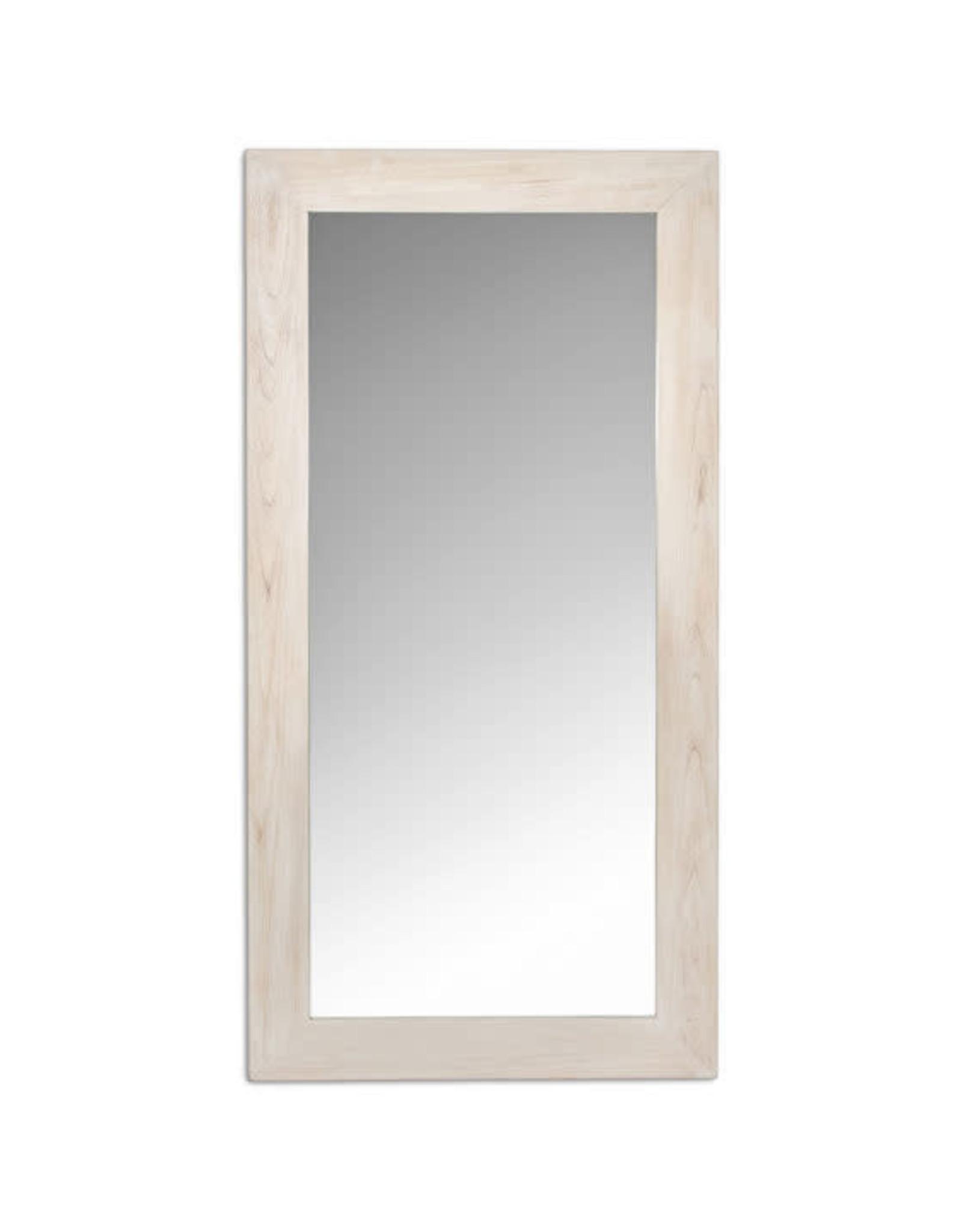 Light Oak Bristol Floor Mirror