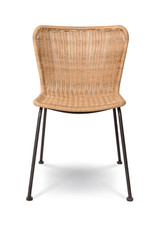 Indoor / Outdoor Natural Calabria Wave Dining Chair