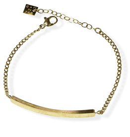 Gold Jules Bar Bracelet