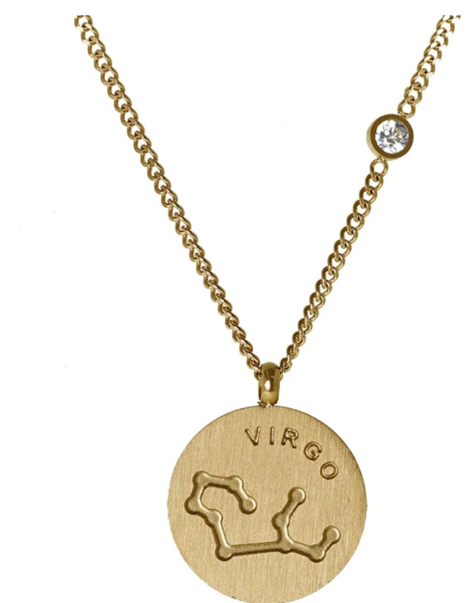 Gold Virgo Necklace