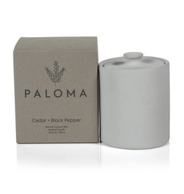 Paloma Cedar & Black Pepper Candle