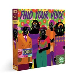 Find Your Voice 1000pc Puzzle