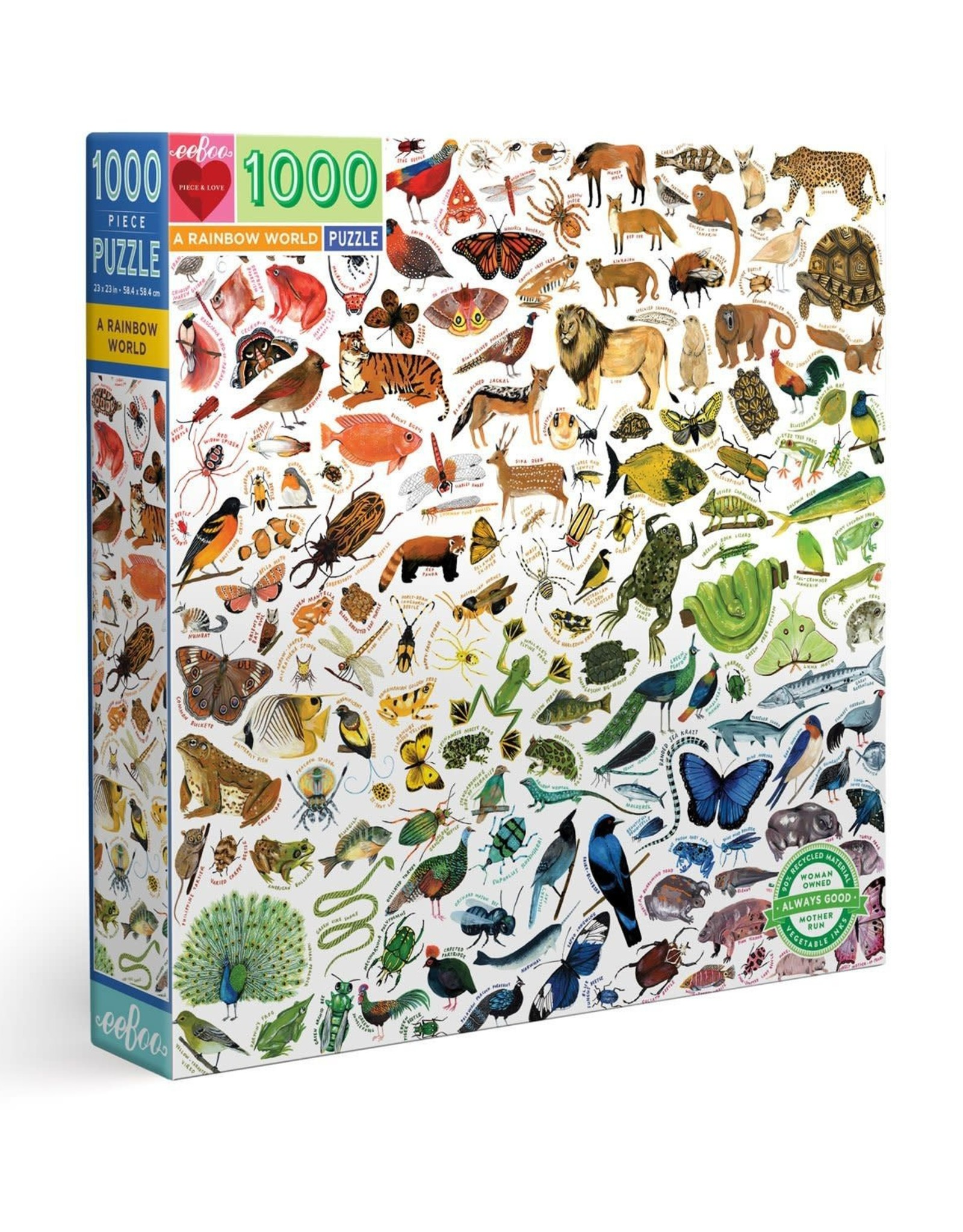 A Rainbow World 1000pc Puzzle
