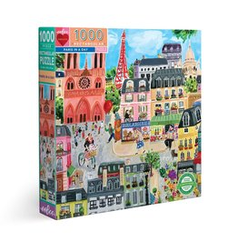 Paris in a Day 1000pc Puzzle