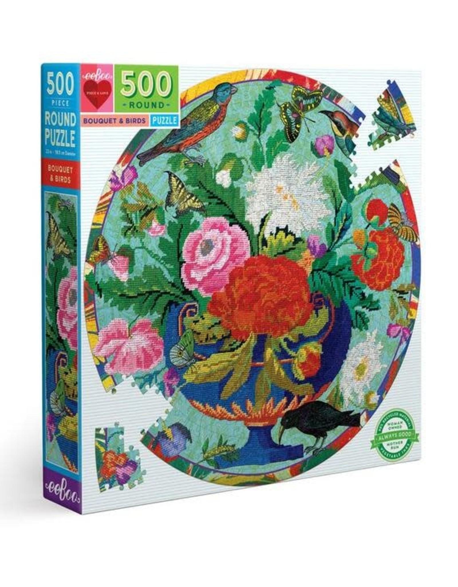 Bouquet & Birds 500pc Puzzle