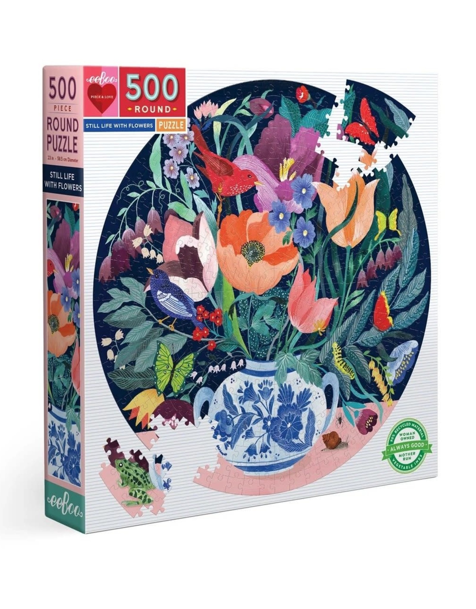 Still Life with Flowers 500pc Puzzle