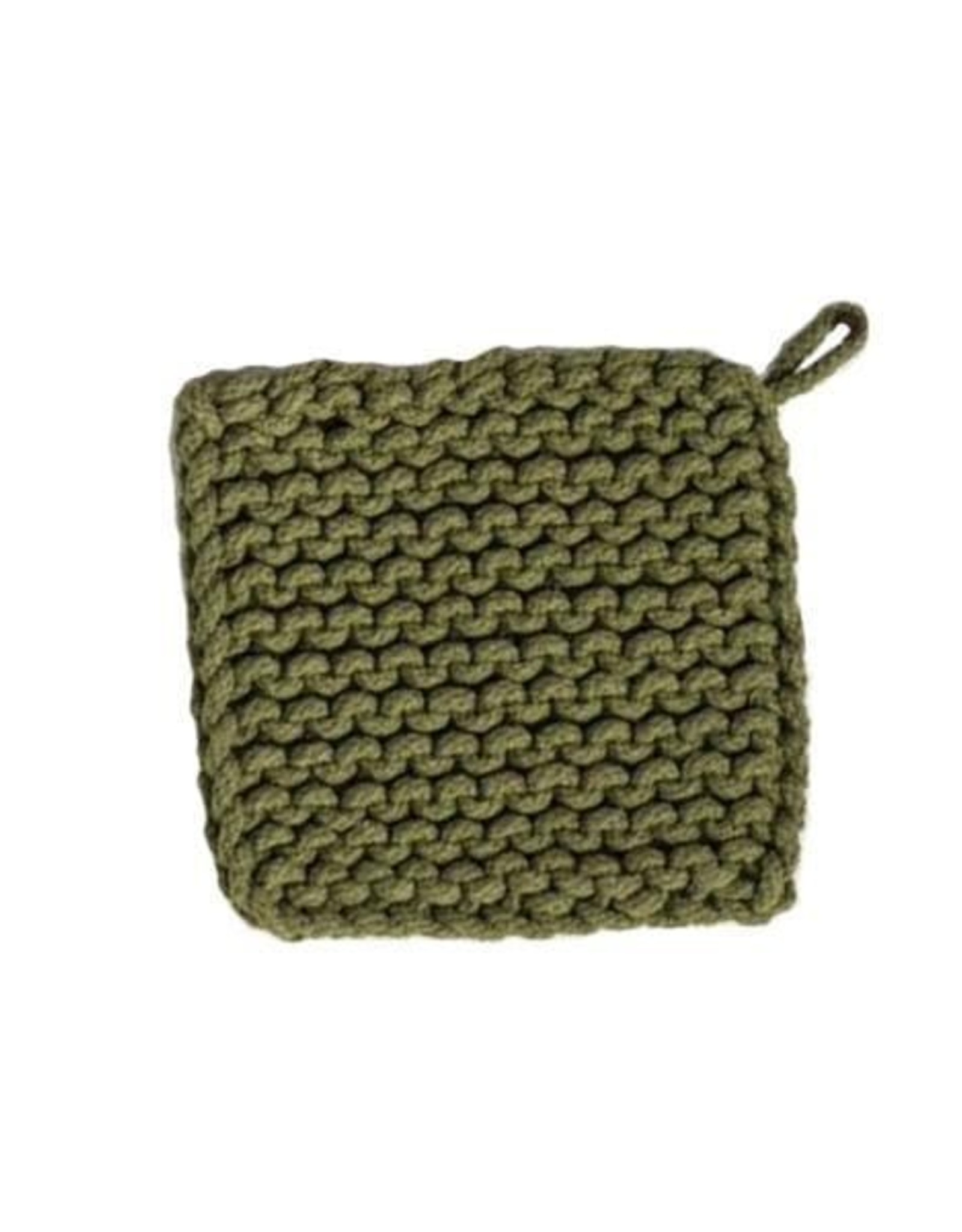 Knit Jade Pot Holder