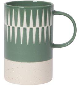 Jade Etched Mug