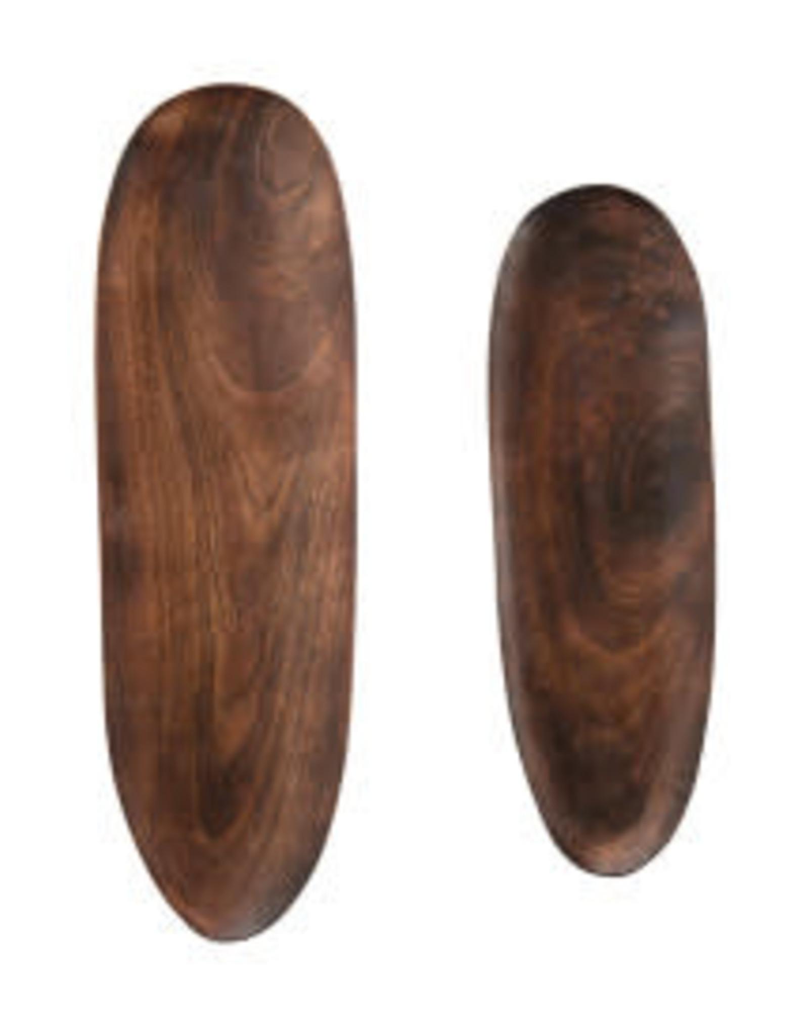 """Mango Wood Tray Large L19.5"""""""