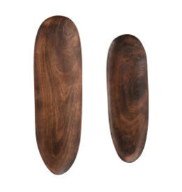 Mango Wood Tray Large L19.5""