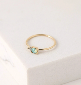 Dolce Ring Size 8 - Pacific Opal