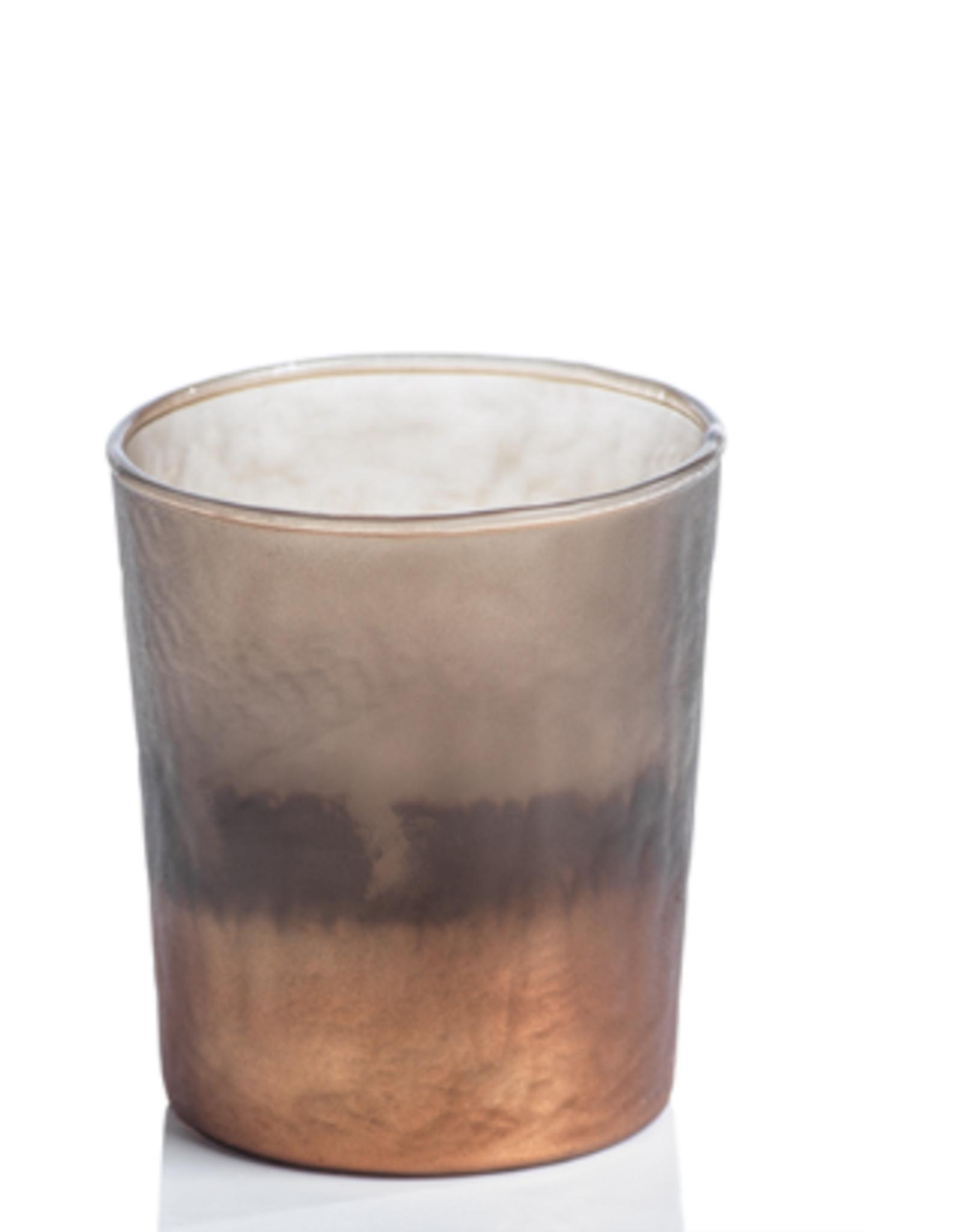 Burnt Tealight Holder-Copper Smoke