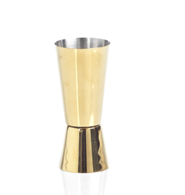 Stainless Gold Cocktail Jigger