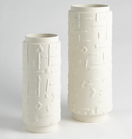 "Small Sankuru Vase H 15"" D 6.5"""