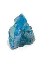 """Large Blue Aura Quartz Point W2.5"""""""