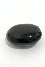 Black Obsidian Palm Stone D1.5-2""