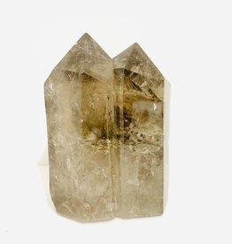 Small Smoky Quartz Crystal Multiple Point