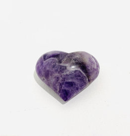 Medium Amethyst Heart W2.5""