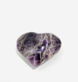 Large Amethyst Heart W3""