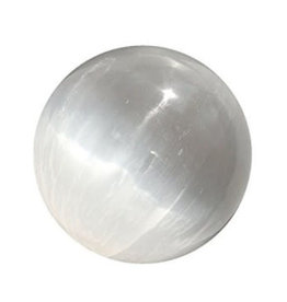 Large Selenite Sphere D4""
