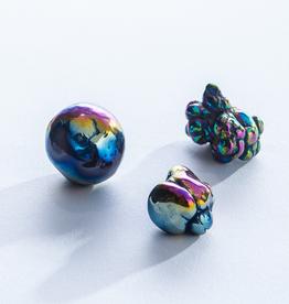 Rainbow Aura Agate Bubbles