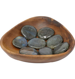 """Labradorite Palm Stone D1.5"""""""